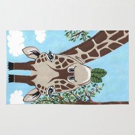Giraffe Snack Rug