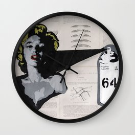 Everybody loves Norma Jean Wall Clock