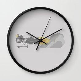 Emergancy Grocery Evacuation Device Wall Clock
