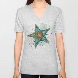 Star Fish Unisex V-Neck