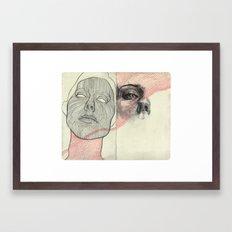 Obscure, Destroy Sketchbook Spread 3 Framed Art Print