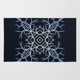 Diatom Snowflake Rug