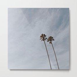 PALM TREES II / San Mateo, CA Metal Print