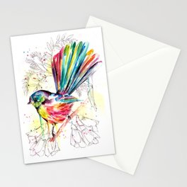 Vibrant Fantail Stationery Cards