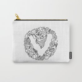 V Vegetables Carry-All Pouch