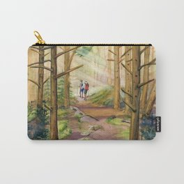 Walk Into The Light Carry-All Pouch