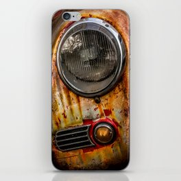 Rusty old Porsche iPhone Skin