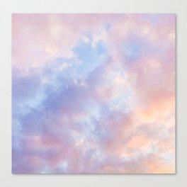 cotton candy clouds Leinwanddruck