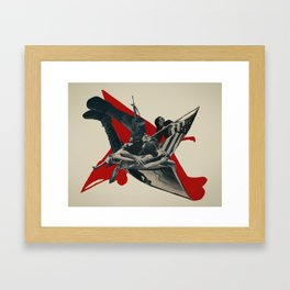 the wail Framed Art Print
