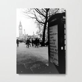 London Scene Metal Print