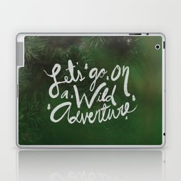 Let's Go on a Wild Adventure through the Forest Laptop & iPad Skin