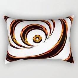 Concentric Circles - Optical Illusion Rectangular Pillow