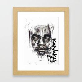 Chef Atai Kanaky Framed Art Print