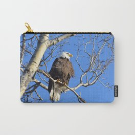 Wintertime Baldy Carry-All Pouch