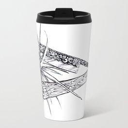 Bromeliad Barber Travel Mug