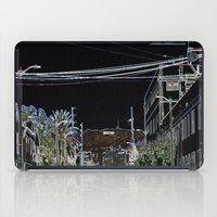 hollywood iPad Cases featuring Hollywood by vida é muerte