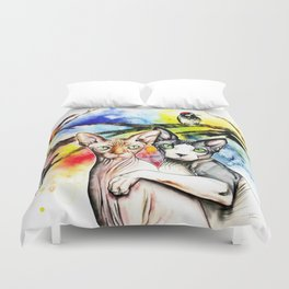 Bird Watchers Duvet Cover