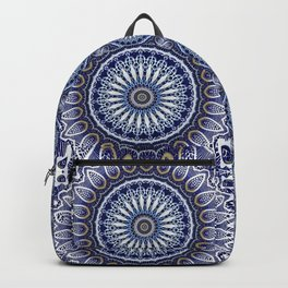 China Blue Backpack