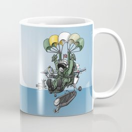 Naval Aviation Life Support Systems (ALSS) Parachute Rigger Cartoon Coffee Mug