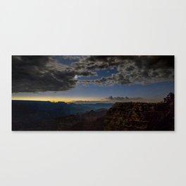Grand Canyon National Park - Stars at South Rim Canvas Print