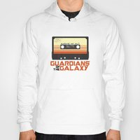 guardians of the galaxy Hoodies featuring Guardians Of The Galaxy by htsvll