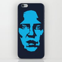 christopher walken iPhone & iPod Skins featuring Walken by Aaron Synaptyx Fimister