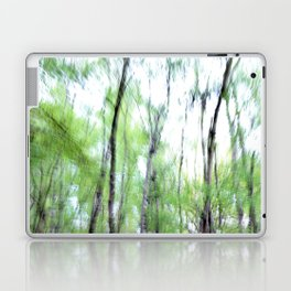 Abstract forest; intentionally blurred by camera shake Laptop & iPad Skin