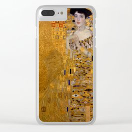 The Woman in Gold Clear iPhone Case
