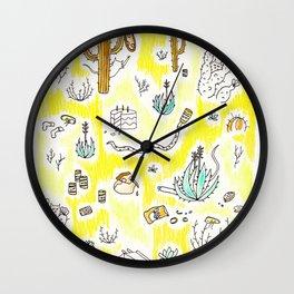 Sunset Blush Wall Clock