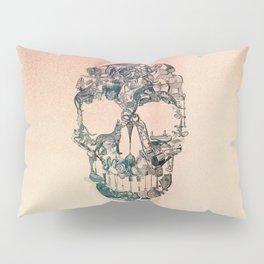 Skull Vintage Pillow Sham