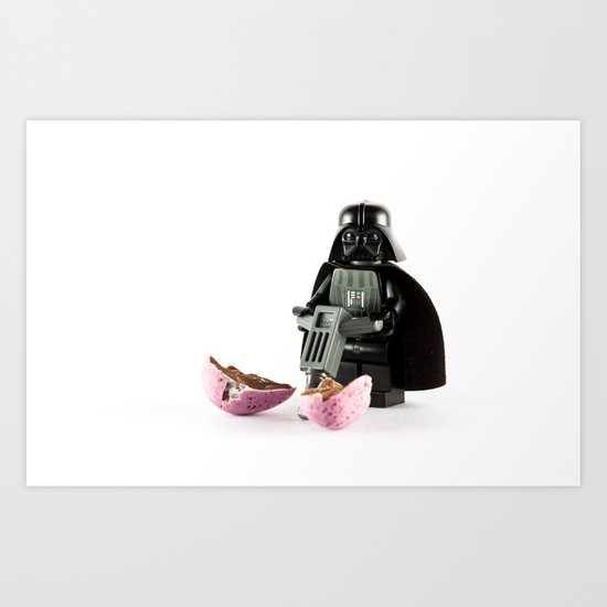 When a Light-sabre just isn't good enough. Art Print