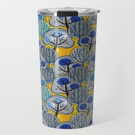 Trees in Gold Travel Mug