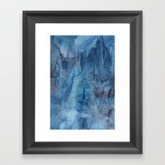 Ocean Wash Framed Art Print