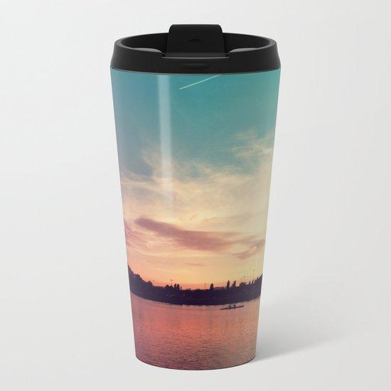 Istanbul Gradient Colors Metal Travel Mug