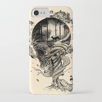 forest iPhone & iPod Cases featuring Lost Translation by nicebleed