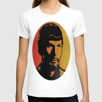 spock T-shirts featuring Spock by SVA🌺
