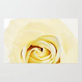 Whtie Rose Rug