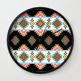 Ethnic IIII Wall Clock
