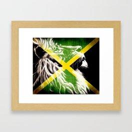 King Of Jamaica Framed Art Print