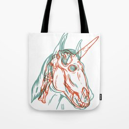 Unicorn Xray Tote Bag