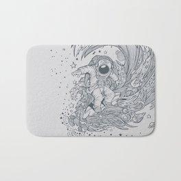 I only surf on Comets Bath Mat