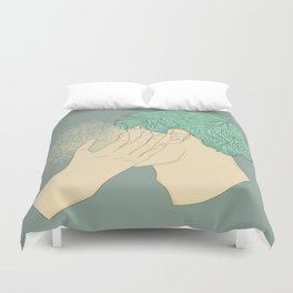 That magic touch Duvet Cover