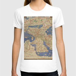 Old Word Map T-shirt
