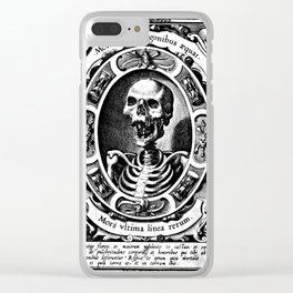 Death is the Last Line Clear iPhone Case