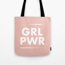 Girl Power / Pink Tote Bag