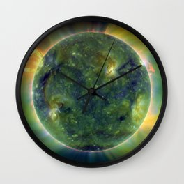 Images from Sun's surface Wall Clock