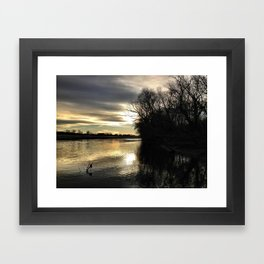 Its Getting Cold All Over Again Framed Art Print