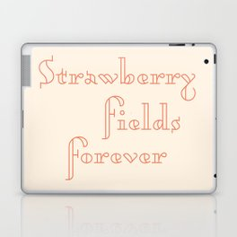 strawberry fields forever Laptop & iPad Skin
