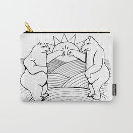 Bears Fist Bump Carry-All Pouch