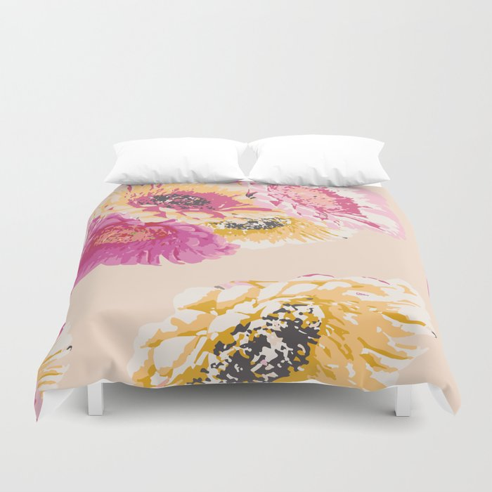 Gerbera Bouquet Duvet Cover